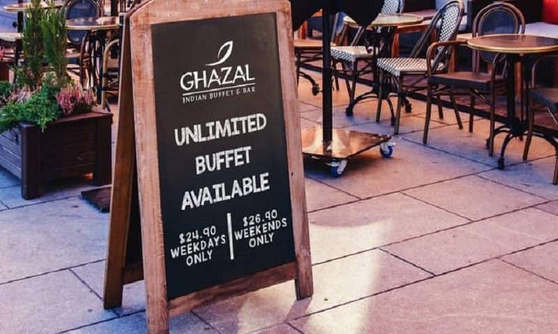 Ghazal Unlimited buffet